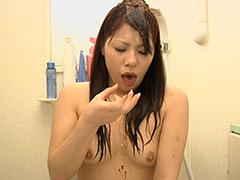 うんこシャンプー動画